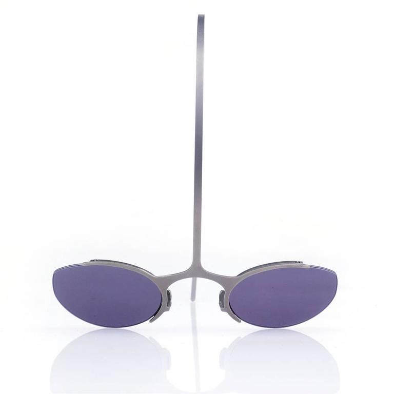Avant Garde 1990s Sunglasses by Theo 2