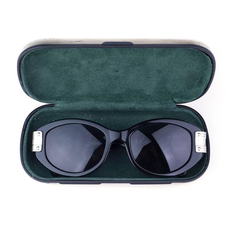 Gaultier 1980s Sunglasses with Case 4