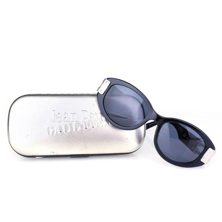 Gaultier 1980s Sunglasses with Case 2