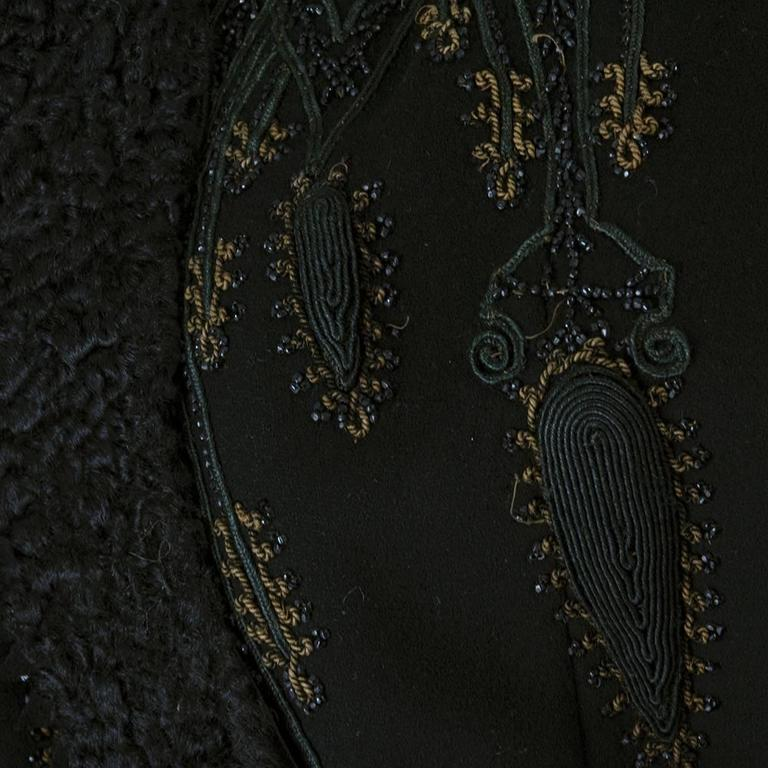 Victorian Leg of Mutton Sleeved Soutache Embroidered Jacket 4