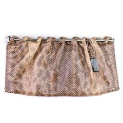 Tom Ford for Gucci Snakeskin Clutch