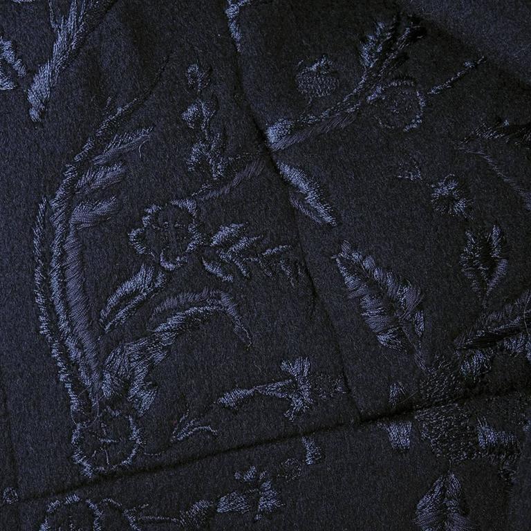 Dries Van Noten 90s Black Wool Coat 5