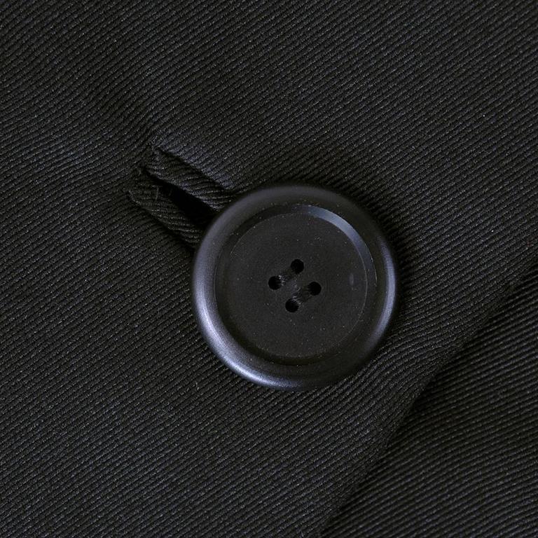 Christian Dior Haute Couture Spring/Summer 1959 Black Silk Faille Coat Dress  5