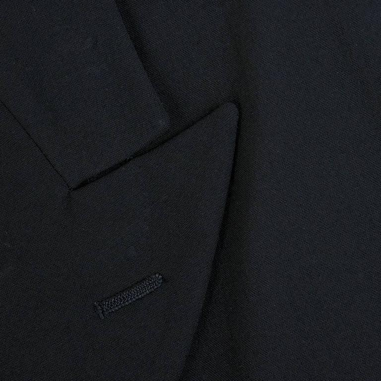 Comme des Garcons 90 Black Lightweight Coat 5