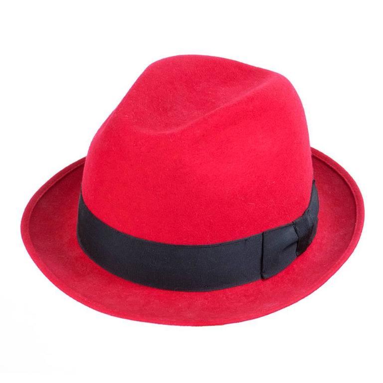 Kenzo 80s Red  Fedora 2