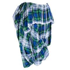 2005 Comme des Garçons Tartan Harem Style Pants