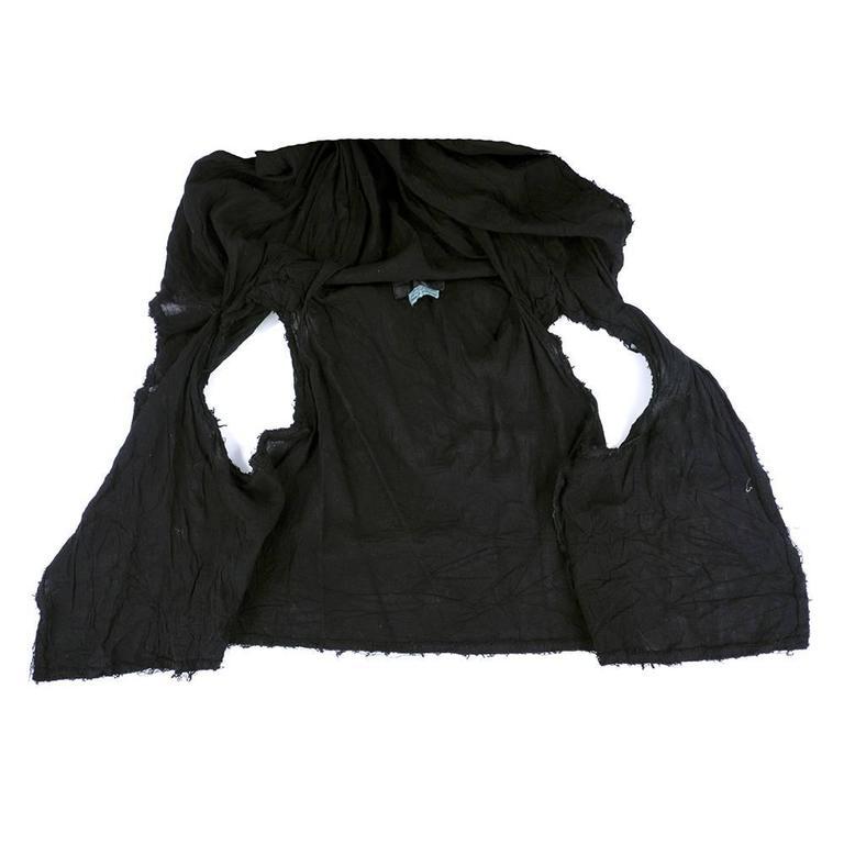 2000s Comme Des Gar 231 Ons Black Avant Garde Wrap At 1stdibs