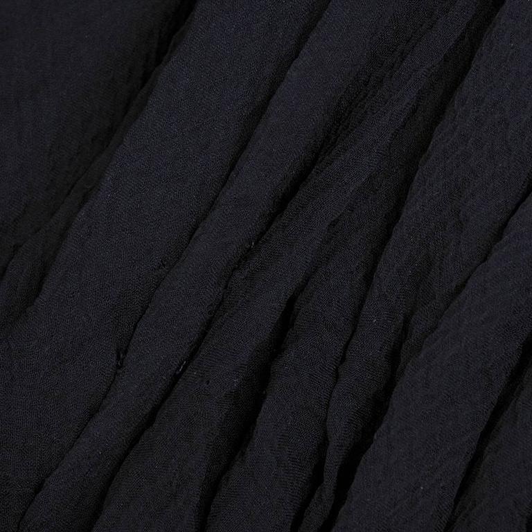 Alexander McQueen Black Chiffon 50s Style Cocktail Dress 5