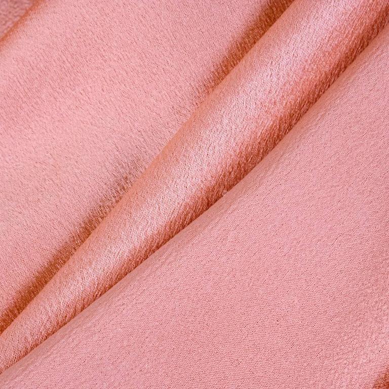 90s Alexander McQueen Pink Satin Bias Gown 5