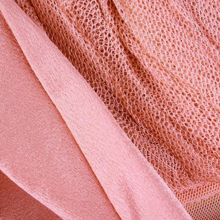 90s Alexander McQueen Pink Satin Bias Gown 7