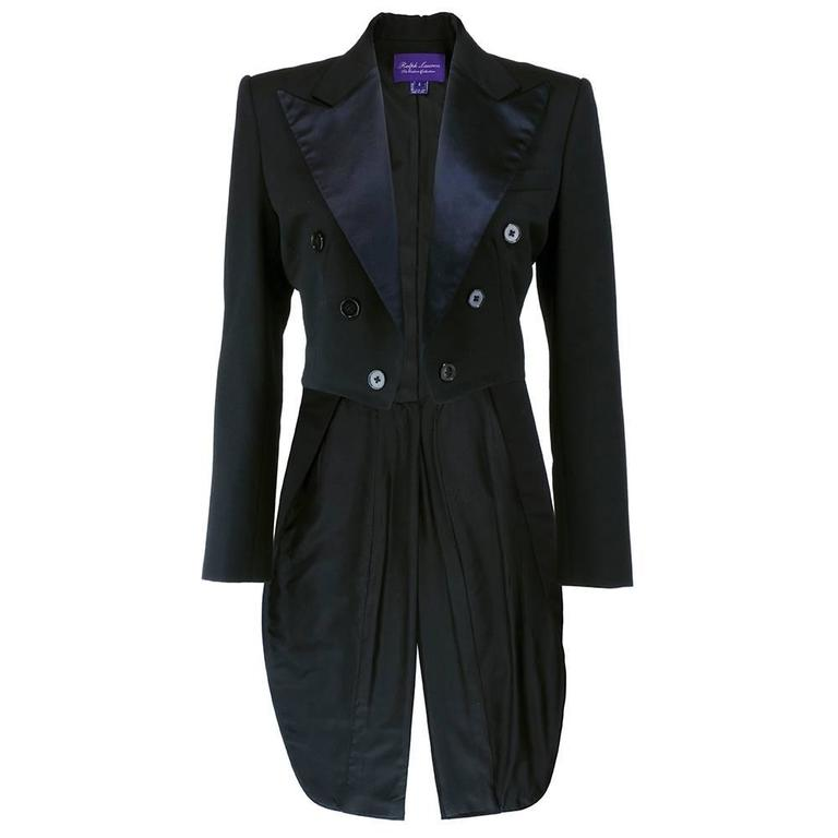 90s Purple Label Ralph Lauren Tail Coat For Sale at 1stdibs