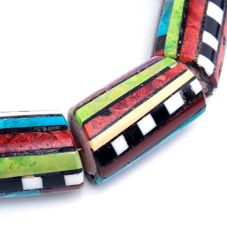 Contemporary Santo Domingo Multii-Stoned Collar 2