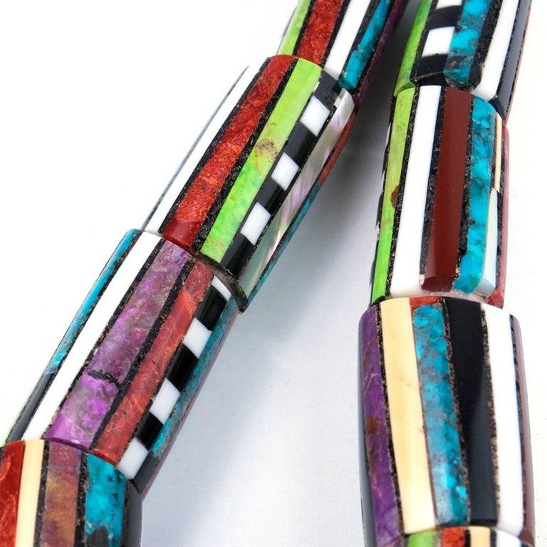 Contemporary Santo Domingo Multii-Stoned Collar 3
