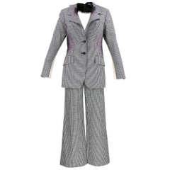 Issey Miyake 1990s Exploded Houndstooth Suit