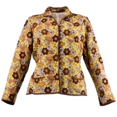 Circa 1926 Allover Hand Embroidered Floral Jacket