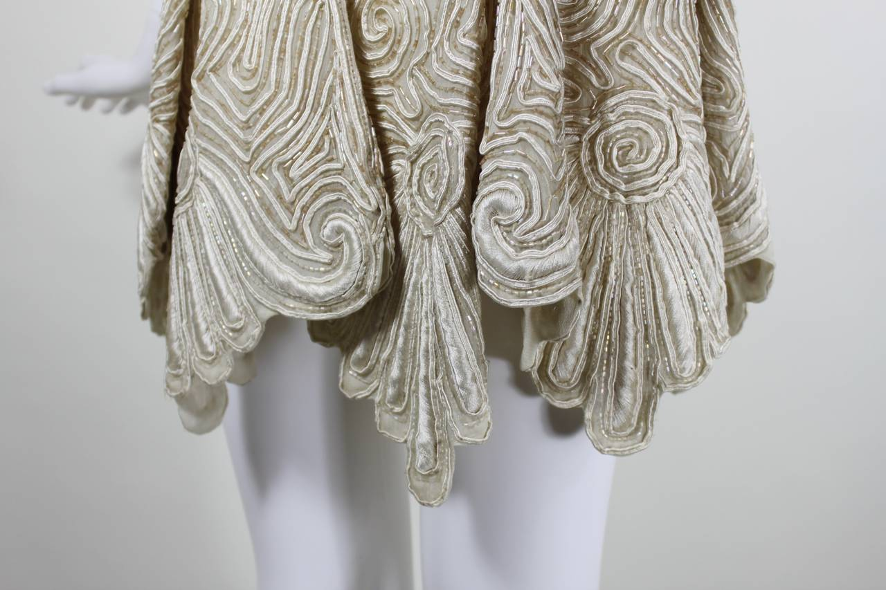 1980s Eavis & Brown Beaded and Embroidered Ensemble 5
