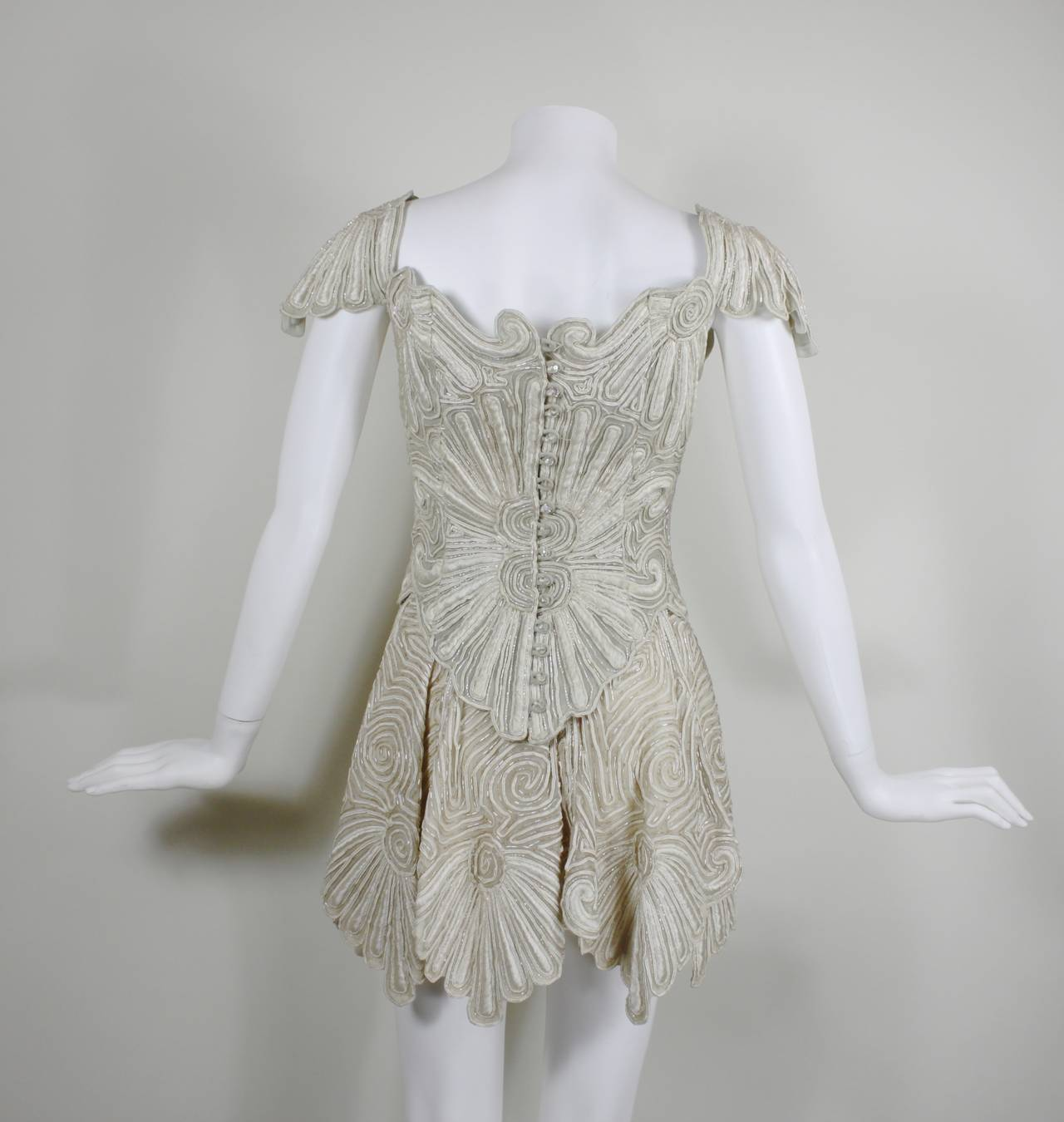 1980s Eavis & Brown Beaded and Embroidered Ensemble 6