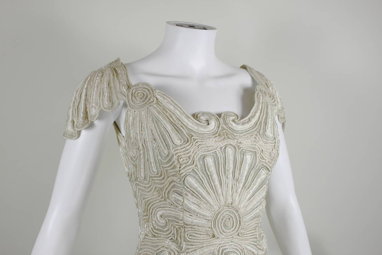 1980s Eavis & Brown Beaded and Embroidered Ensemble 9