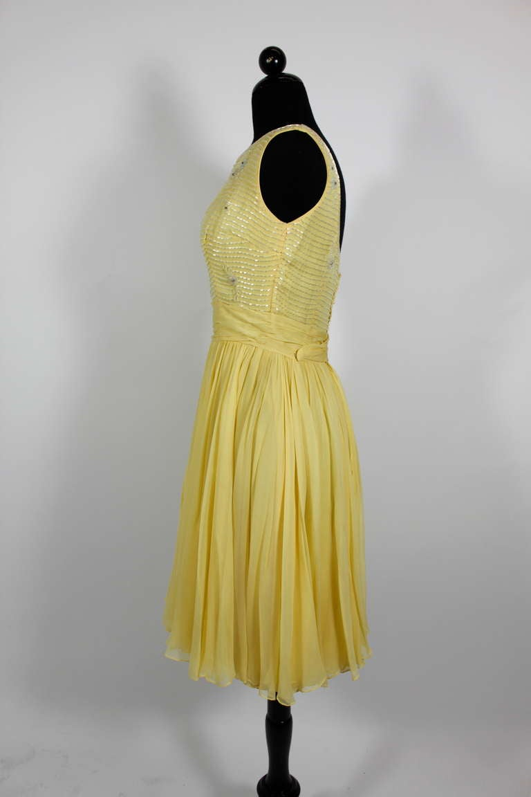 Yellow Cocktail Dresses For Sale 110