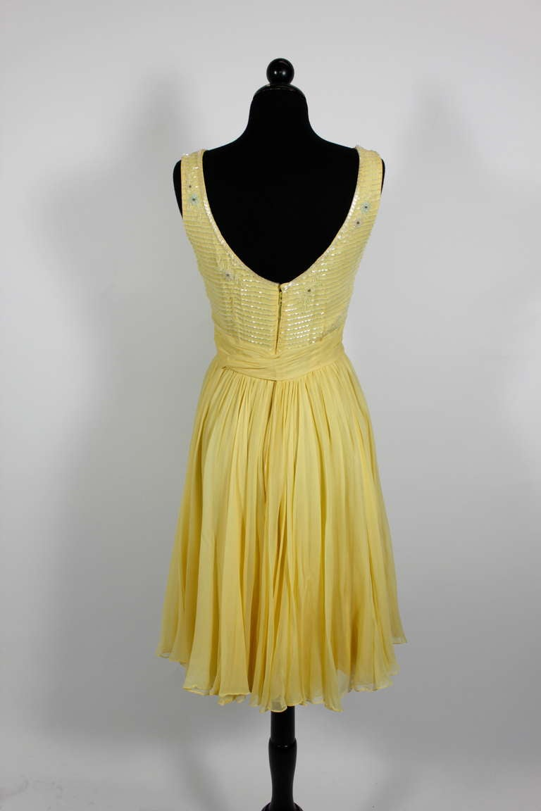Yellow Cocktail Dresses For Sale 50