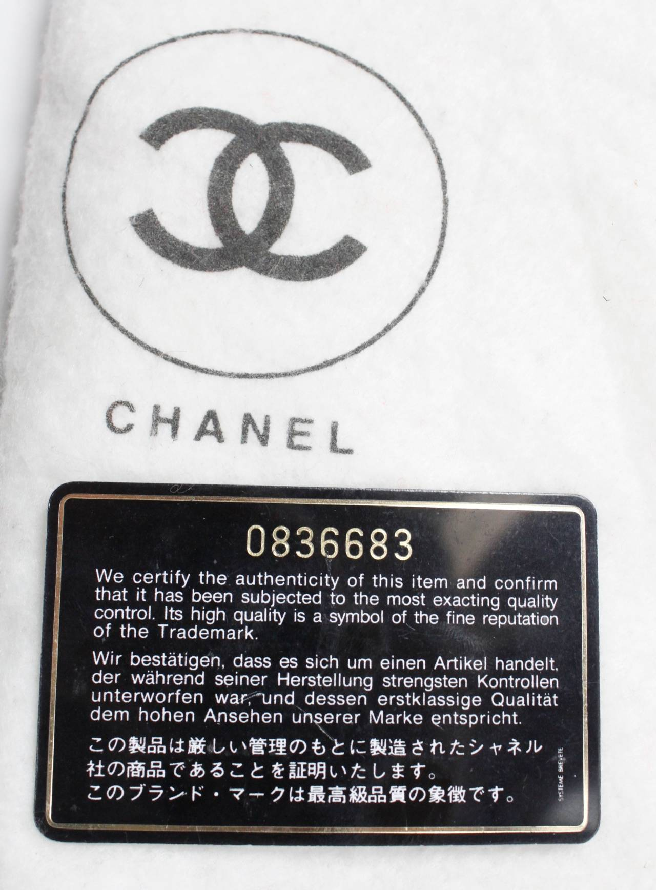 Chanel Black Quilted Bucket Bag with Logo and Chain Strap 10
