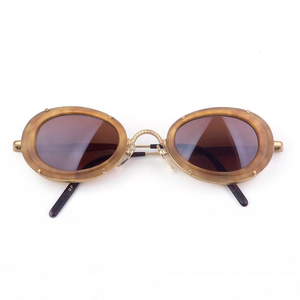 1980s Matsuda Amber Sunglasses At 1stdibs