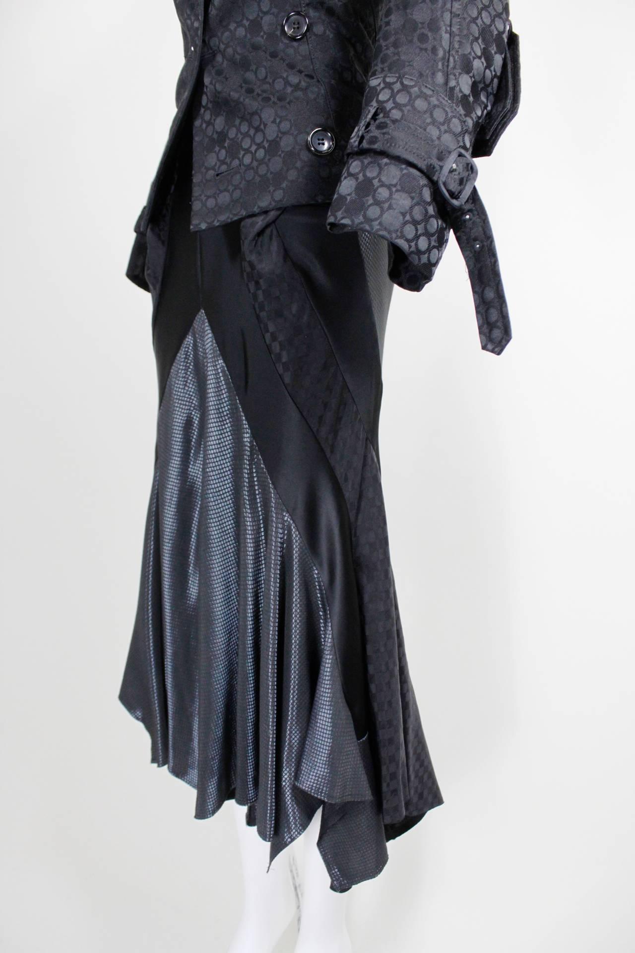 Junya Watanabe for Comme des Garçons Black Asymmetrical Ensemble 8