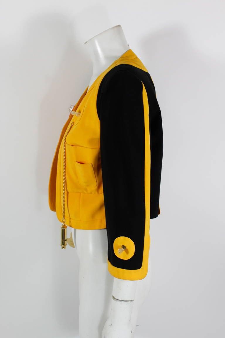 "Moschino 1989 ""Cruise Me Baby"" Life Preserver Jacket 7"