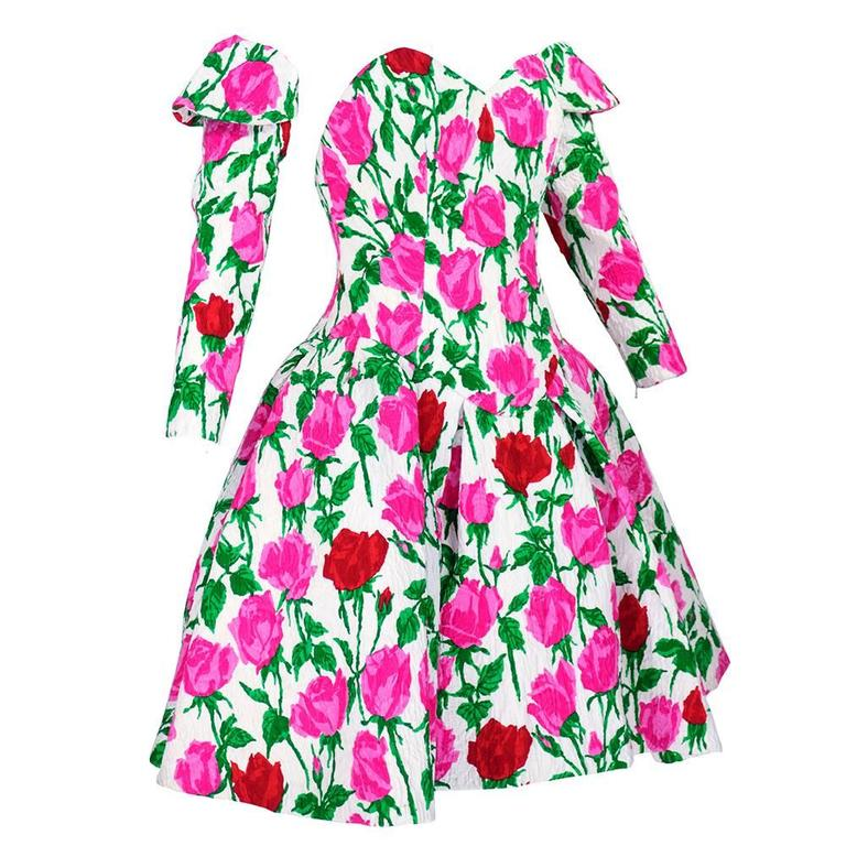 Christian Lacroix 1990s Pouf Dress 1