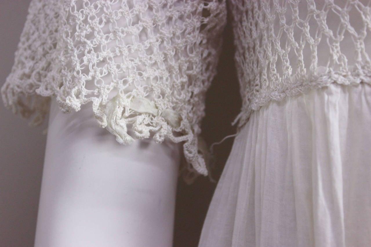 Women's Romantic Edwardian Nightgown For Sale