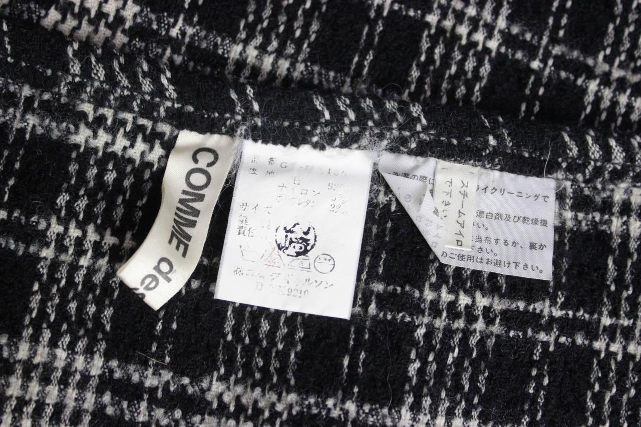 Comme des Garcons Plaid Maxi Tube Dress 6