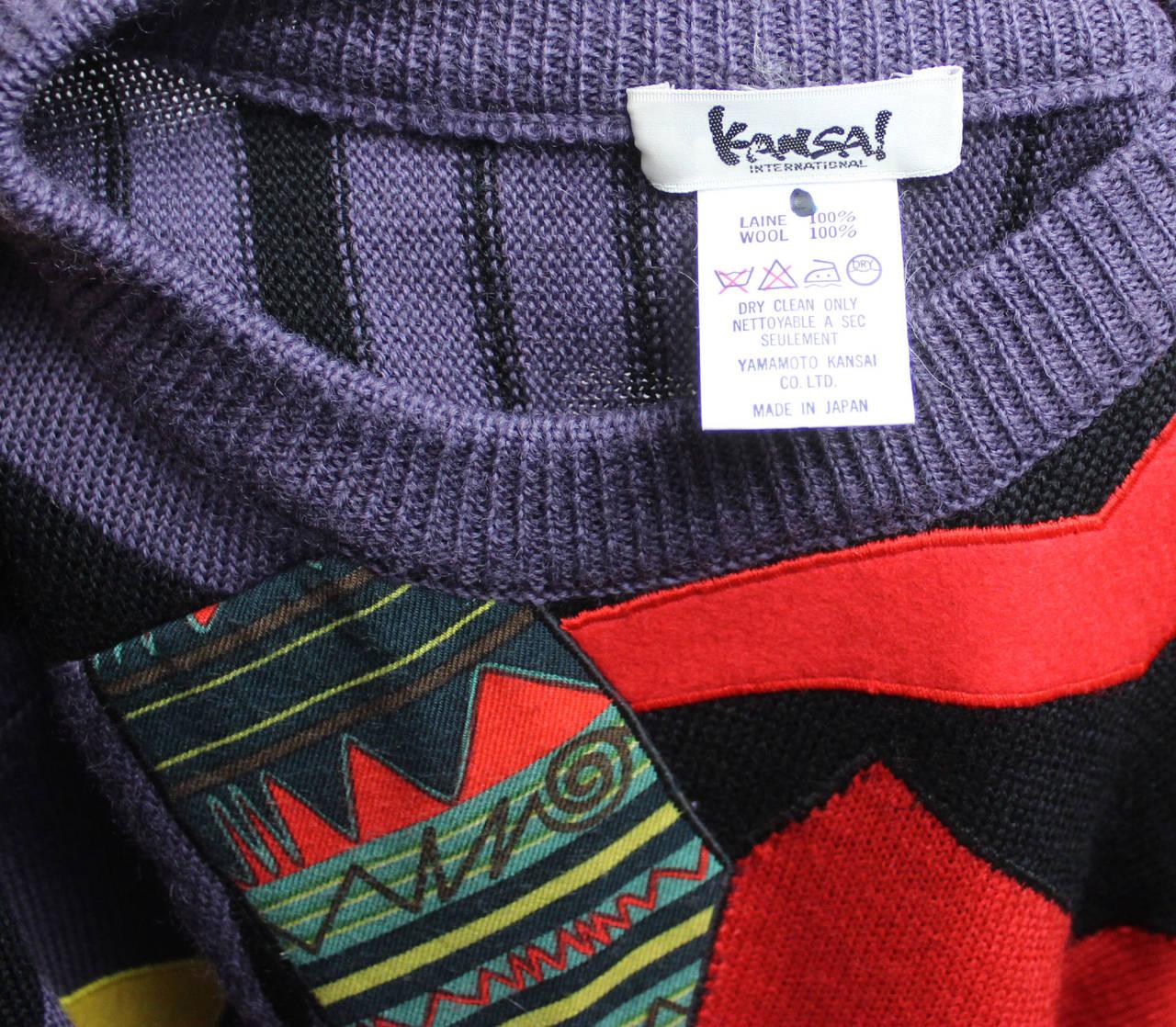 1980s Kansai Yamamoto Sweater 7