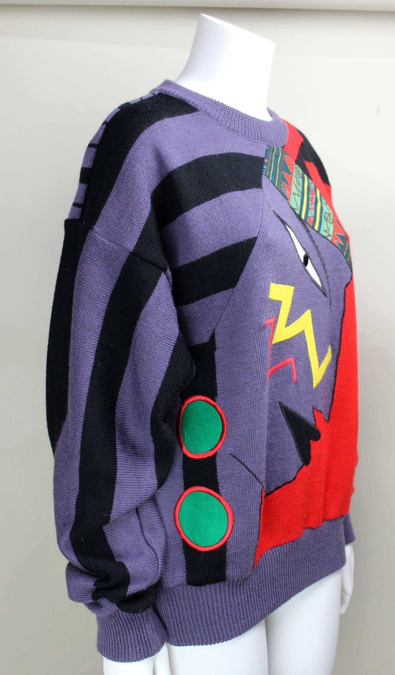 1980s Kansai Yamamoto Sweater 3
