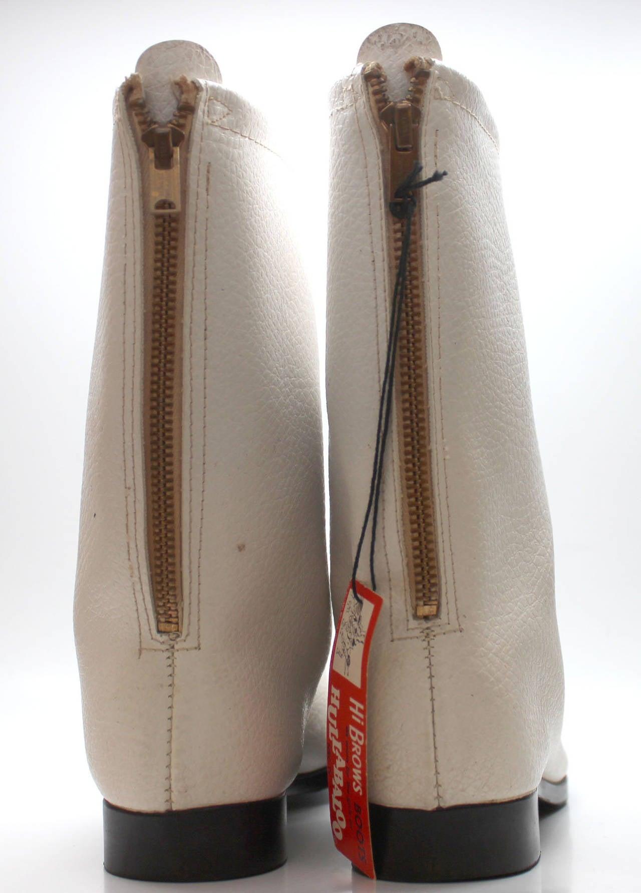 Rare 1960s Hullabaloo Go Go Boots At 1stdibs