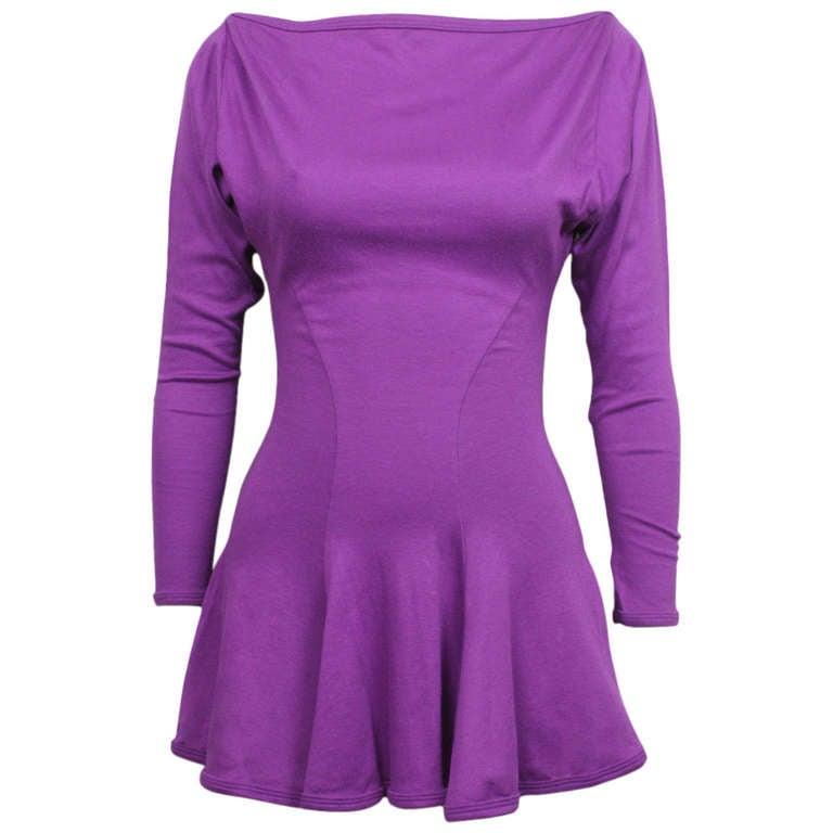 Betsey Johnson Punk Label Purple Mini Dress 1