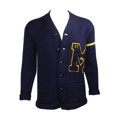 1959 Men's Wool Varsity Sweater