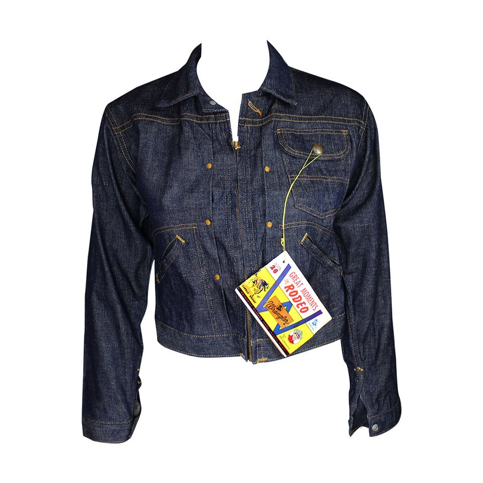Wrangler Blue Bell Never Worn 1959 Denim Jacket With