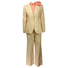 Giorgio di Sant'Angelo 1970's Breezy Summer 3 pc suit