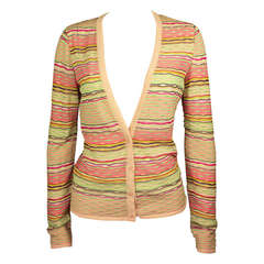 Missoni Womens 1990s Featherweight Cardigan