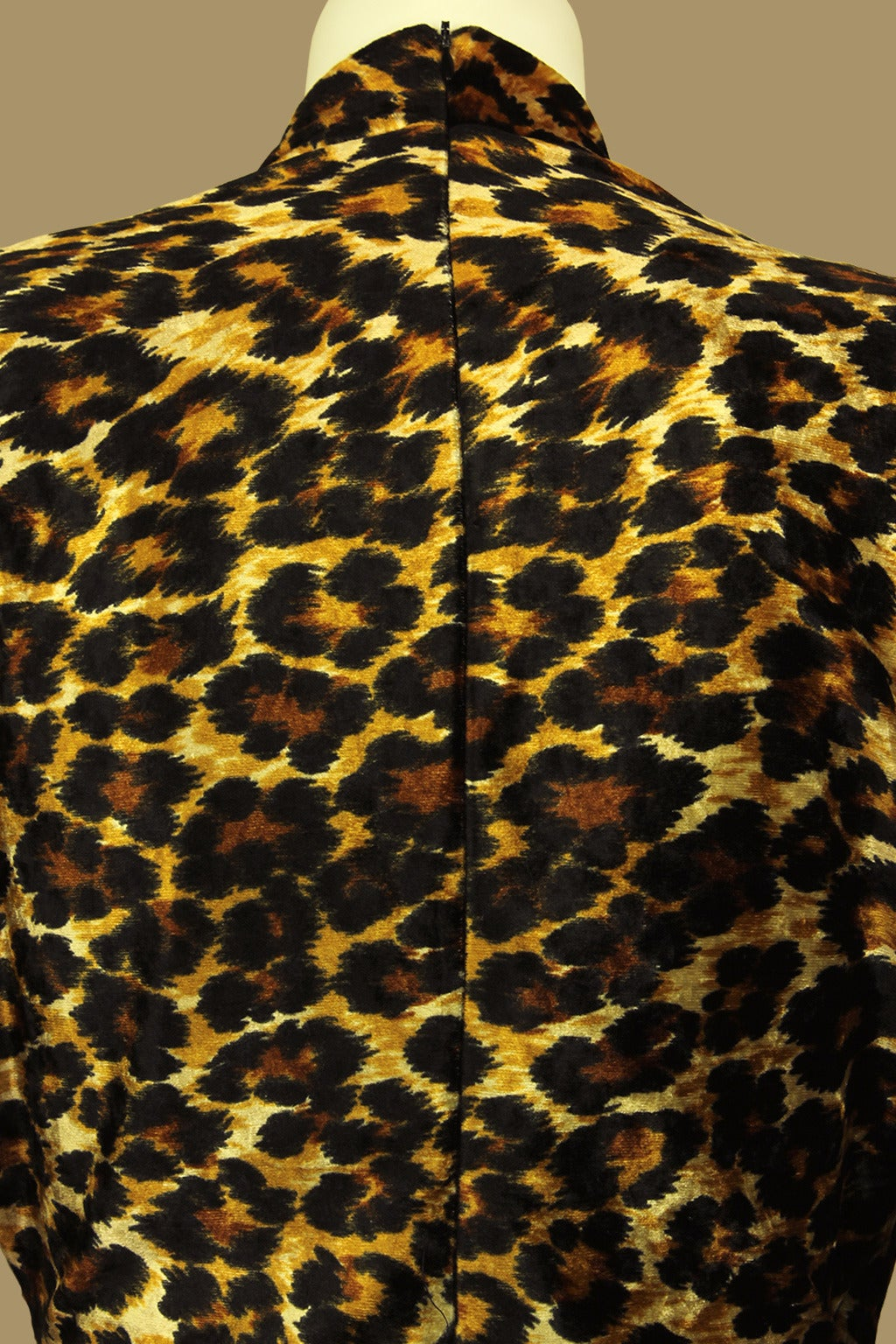Patrick Kelly Leopard Print Wrap Dress 5