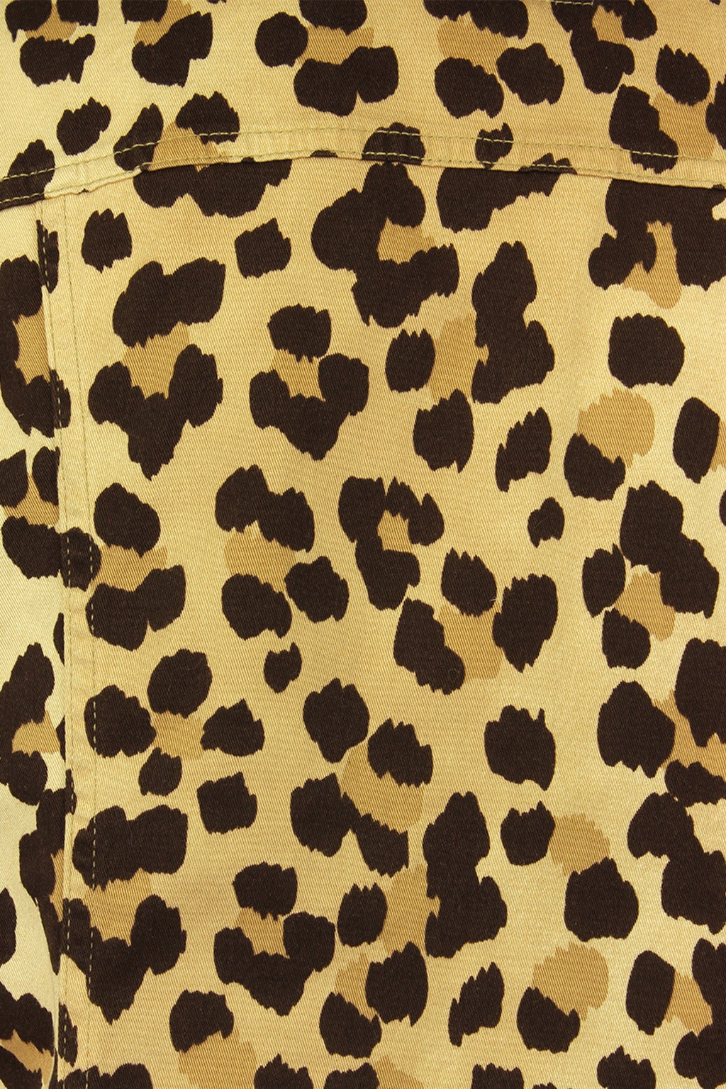 Moschino 1990s Cheetah Print Cropped Western Style Jacket 6