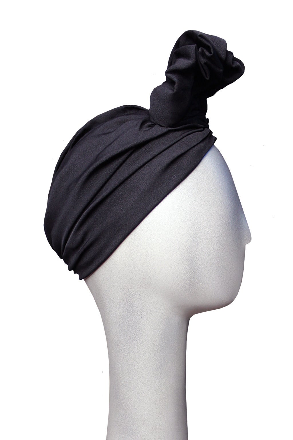 Norma Kamali 1970s Exaggerated Turban 2