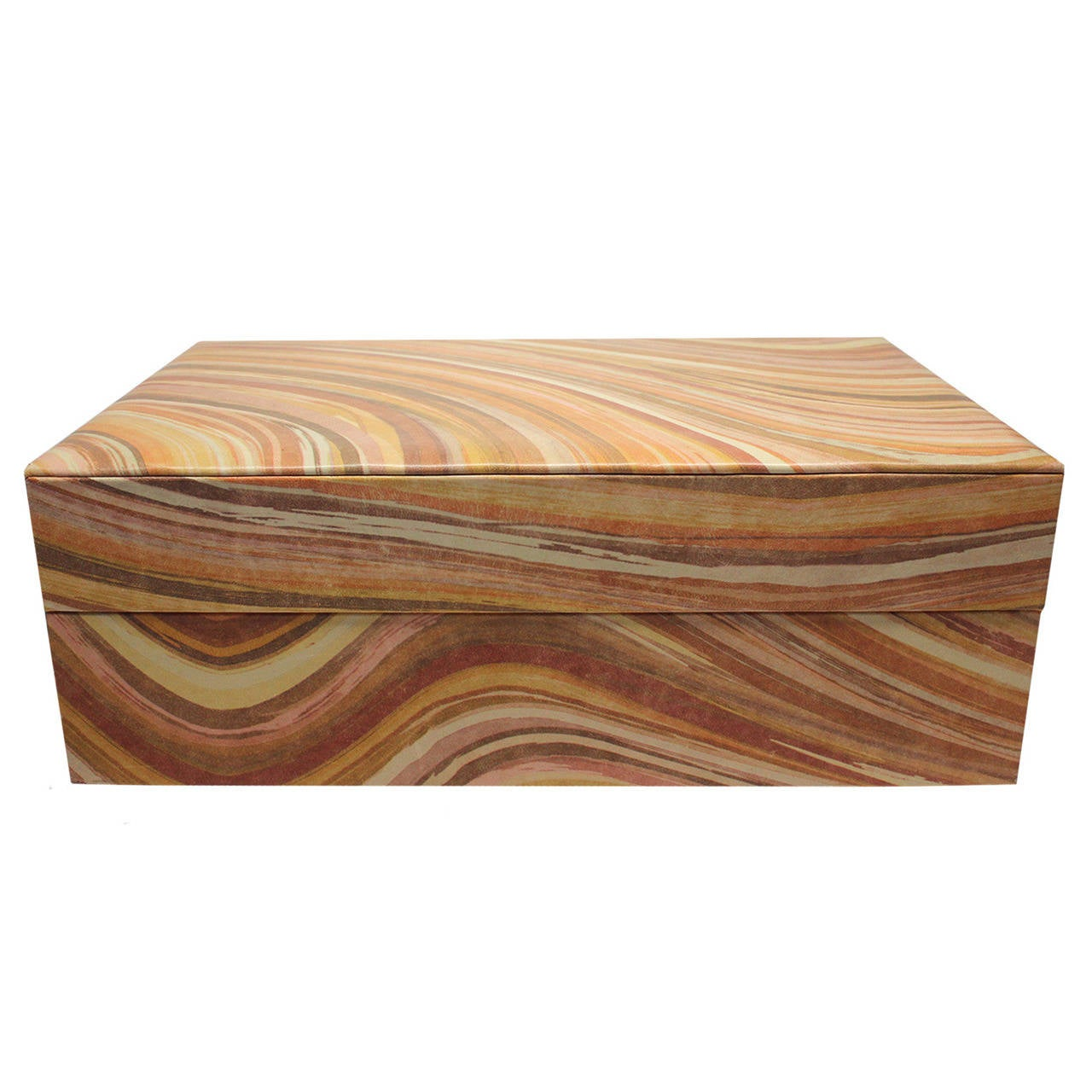 Paul Smith LeatherWood Jewelry Box at 1stdibs