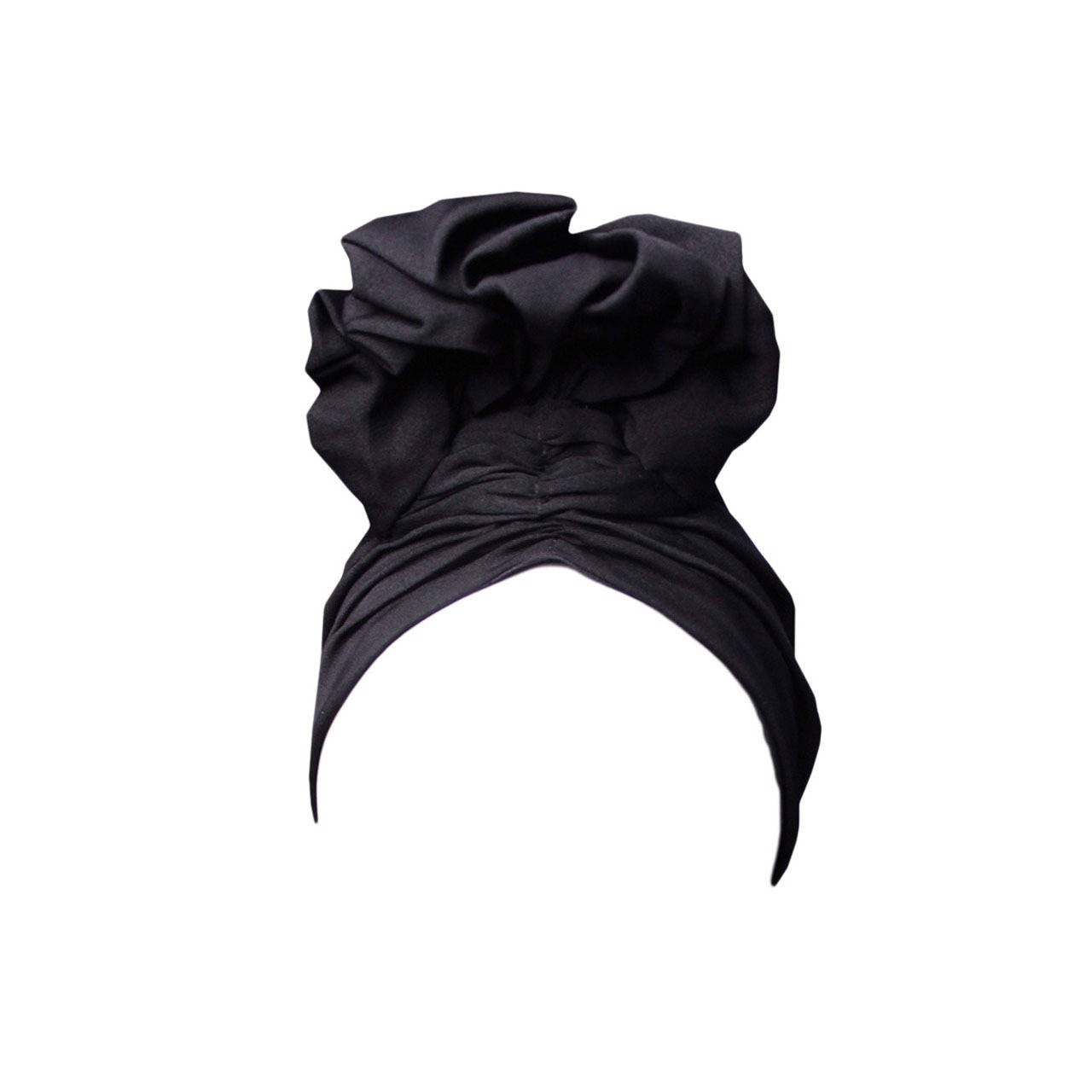 Norma Kamali 1970s Exaggerated Turban 1