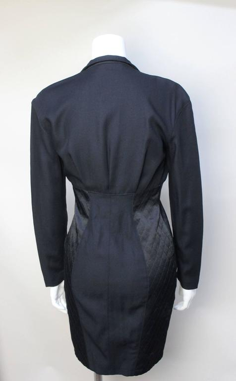 Thierry Mugler Sexy Fitted Siren Dress In Excellent Condition For Sale In New York, NY