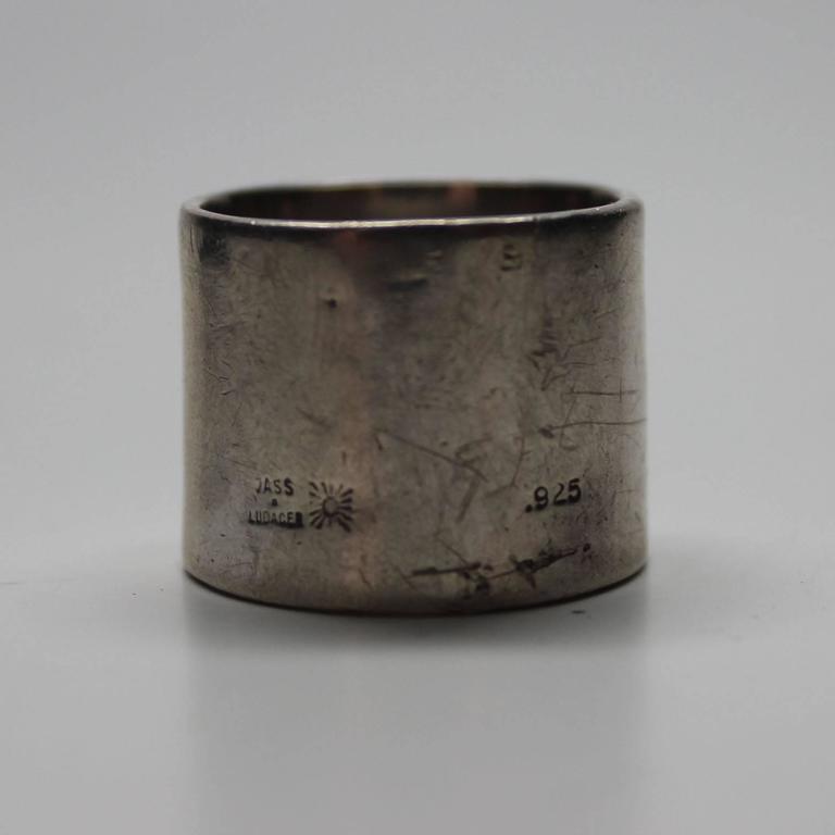 Vass Ludacer Sterling Union Jack Ring At 1stdibs