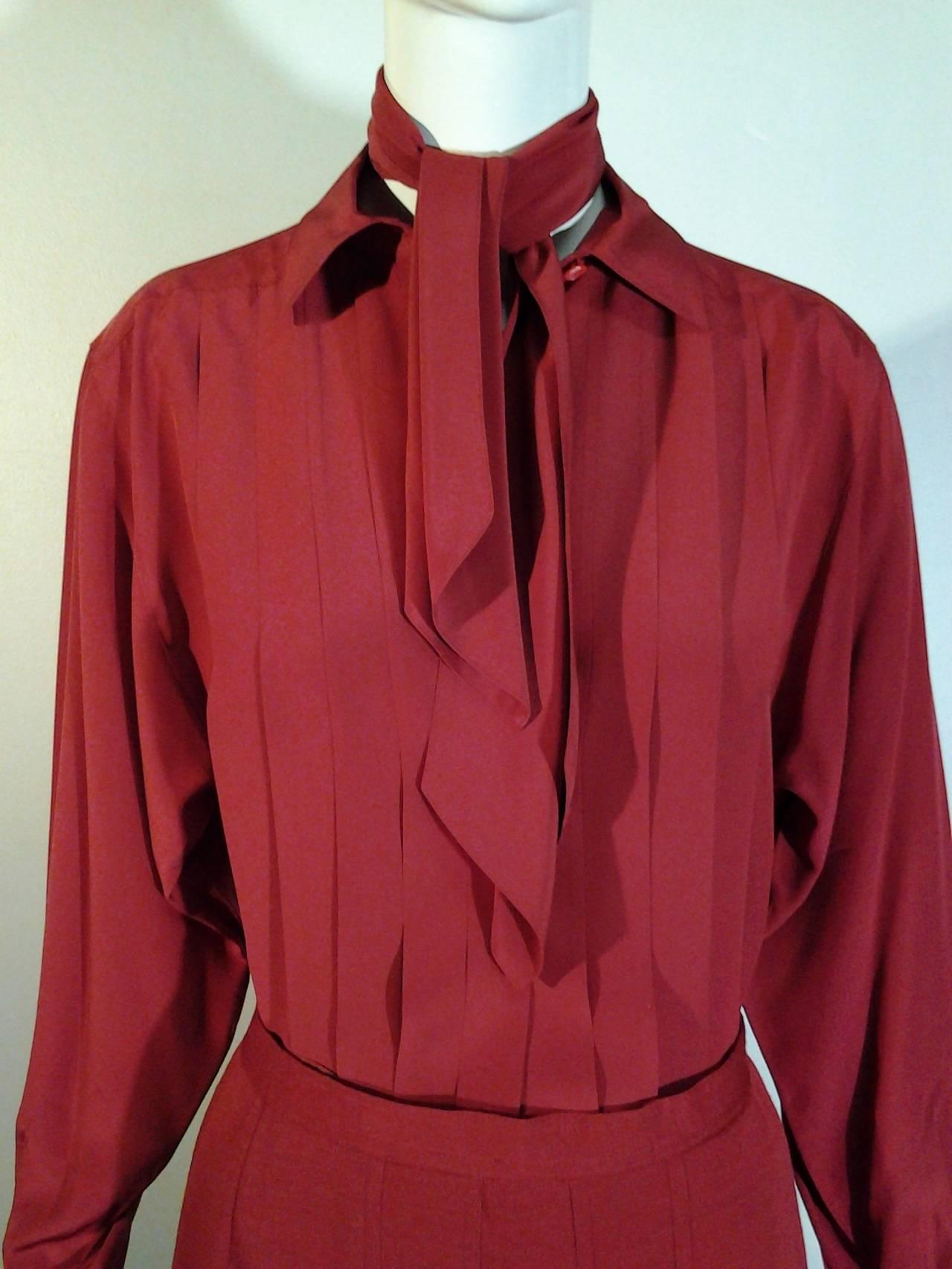 1980s Chanel 5-Piece Cashmere Classic Cardigan Set 4