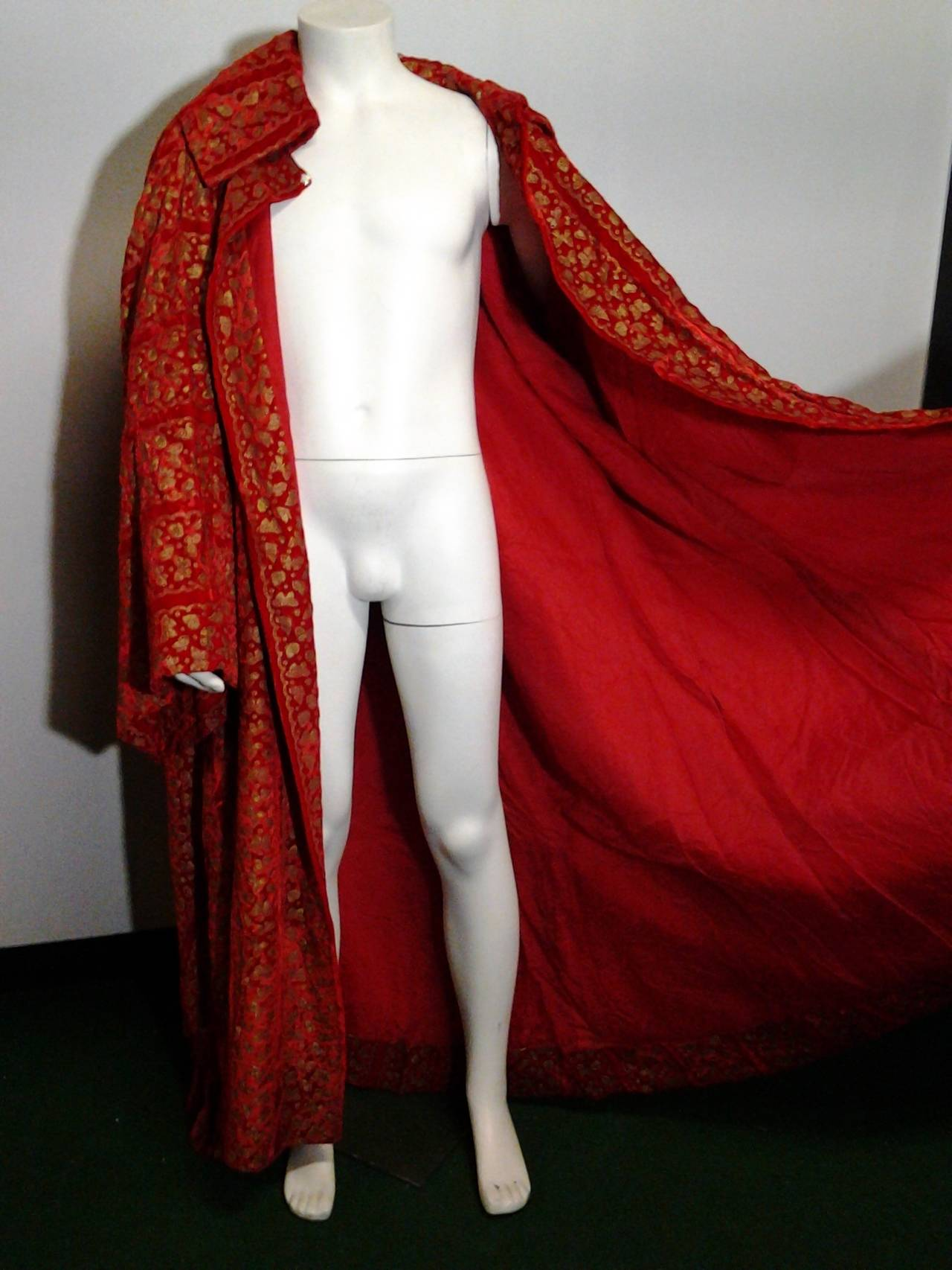 A Pair of 1958 Pierre Cardin Couture Robes for Paris Bal D'Hiver 7