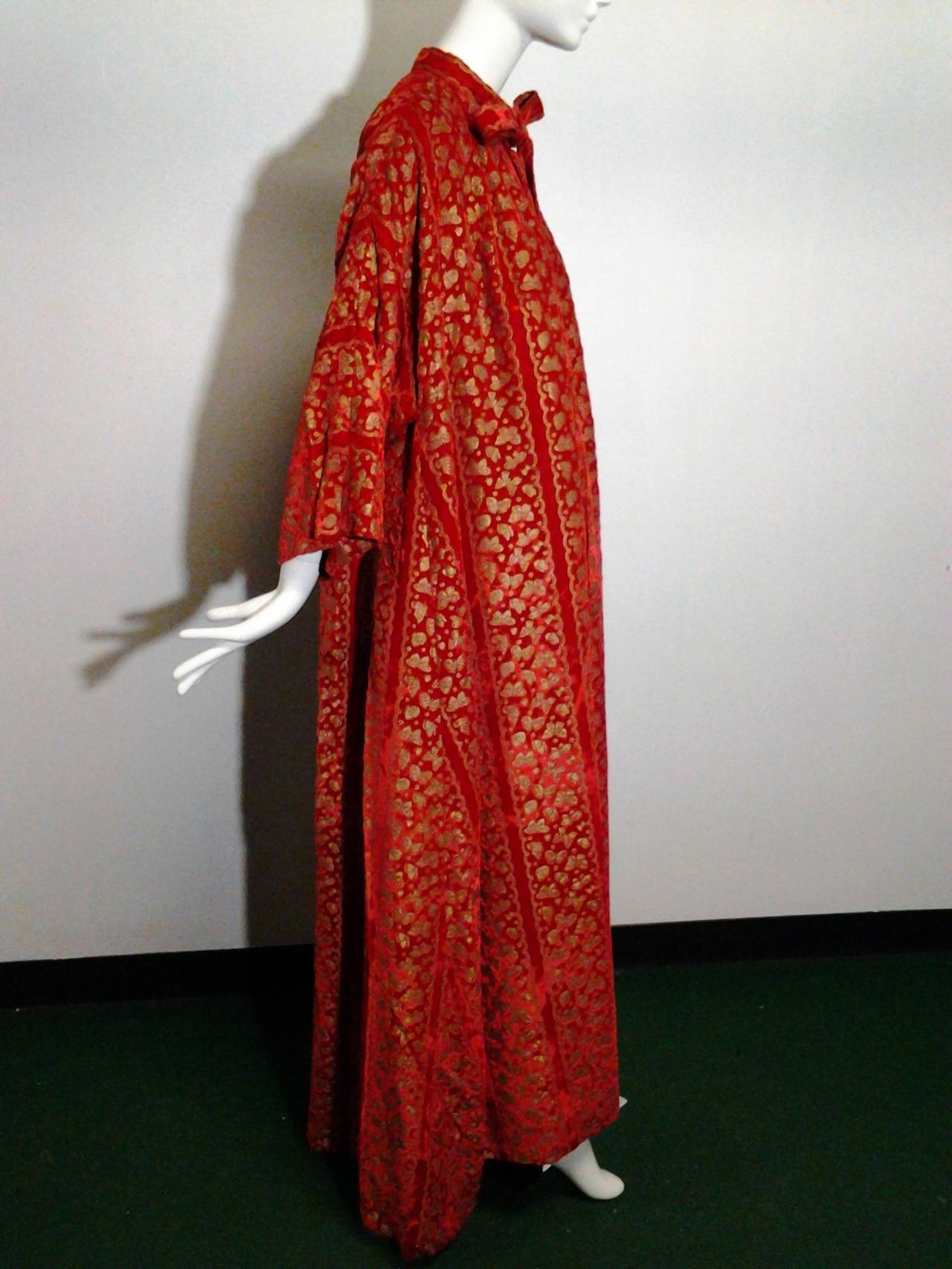 A Pair of 1958 Pierre Cardin Couture Robes for Paris Bal D'Hiver 6