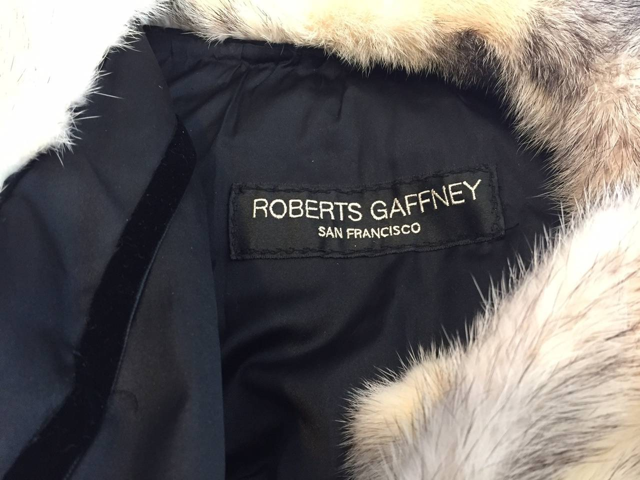 1970s Roberts Gaffney Cross Mink Trench Coat w/ Belt 6
